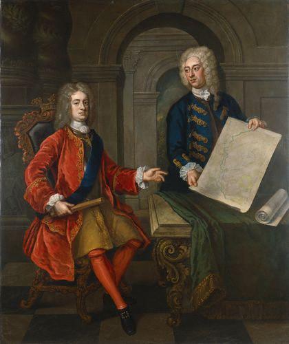 NPG 5318, John Churchill, 1st Duke of Marlborough; John Armstrong